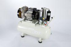 Bambi VTH200D Oil Free Compressor